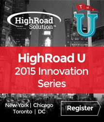 HighRoad U Innovation Series by HighRoad Solution