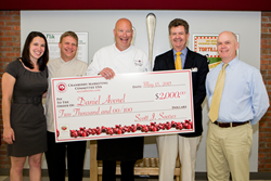 S.C. school chef Danny Avenel wins $2,000 in Cranberry Marketing Committee/Flik Independent School Dining Recipe Contest