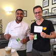 Crepe Cafe Master Chef Nick Sayles and Owner Alex Kalinic (Left to Right)