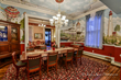 The restored Bedford Inn dining room, returned to its former Victorian glory