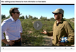Taylor Lancaster Walks Across USA for GMO Labeling, interviewed on Phoenix CBS Channel 5