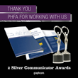 Graphcom Honored with Two Communicator Awards
