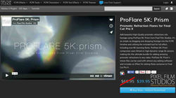 ProFlare 5K Prism Plugin from Pixel Film Studios