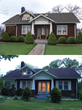 "Cayce finalist ""before and after"" shot in 2015 ""Shake it Up"" Exterior Color Contest."