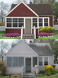 "Delgado finalist ""before and after"" show in 2015 ""Shake it Up"" Exterior Color Contest."