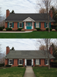 "Tucker finalist ""before and after"" shots in 2015 ""Shake it Up"" Exterior Color Contest."