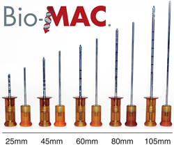 Bio-MAC Bone Marrow Aspiration Cannulas available in five lengths.