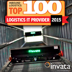 Invata Intralogistics included in Top 100 IT Providers by Inbound Magazine