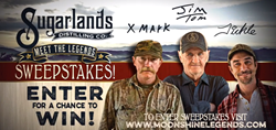 Sugarlands Distilling Company Launches 'Meet the Legends' Sweepstakes