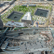 The 9/11 Memorial Museum construction was documented by multiple EarthCam cameras