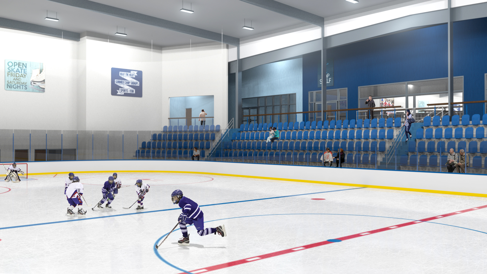 Ice Complex In Wesley Chapel Announces Name And Unveils