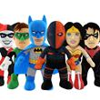 Comic-Book Super Heroes Swoop In—On Tiny Plush Feet—As Bleacher...