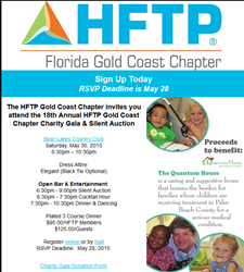 HFTP Charity Gala Benefiting Quantum House