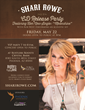 Nashville Country Recording Artist and Arizona's Own, Shari Rowe, to Host CD Release Party at Rustler's Rooste in Phoenix
