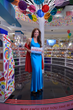 Dylan Lauren celebrates the official opening of Dylan's Candy Bar Chicago located on Michigan Avenue.