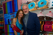 Dylan Lauren (left) and close Chicago friend Chef Art Smith celebrate the grand opening of Dylan's Candy Bar Chicago.
