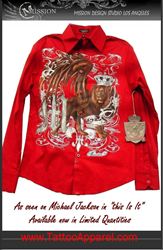 Mission Lion Shirt as seen on Michael Jackaon