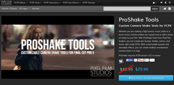PROSHAKE TOOLS Plugin from Pixel Film Studios