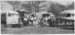 Midwest Coachmen chapter rally in the mid-1960s