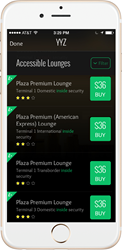 LoungeBuddy Instant Booking at Plaza Premium Lounges in YYZ
