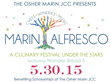 Magic under the stars in support of the Osher Marin JCC on May 31, 2015
