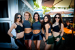 Monster Energy's Monster Girls in Barcelona, Spain at the SLS Nike SB Pro Open Qualifiers