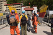 A few hundred meters from the Nepal/China border, El Chino learned that the Nepal earthquake search and rescue phase had now been terminated.