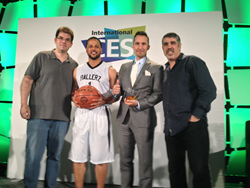 Jon Hein, Ballerz World Co- Founders Kyle E. Cox and Nicholas S. Damuth and Gary Dell'abate
