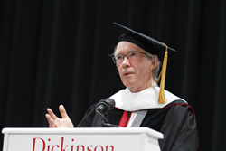 Ian McEwan gives the Dickinson College 2015 Commencement address