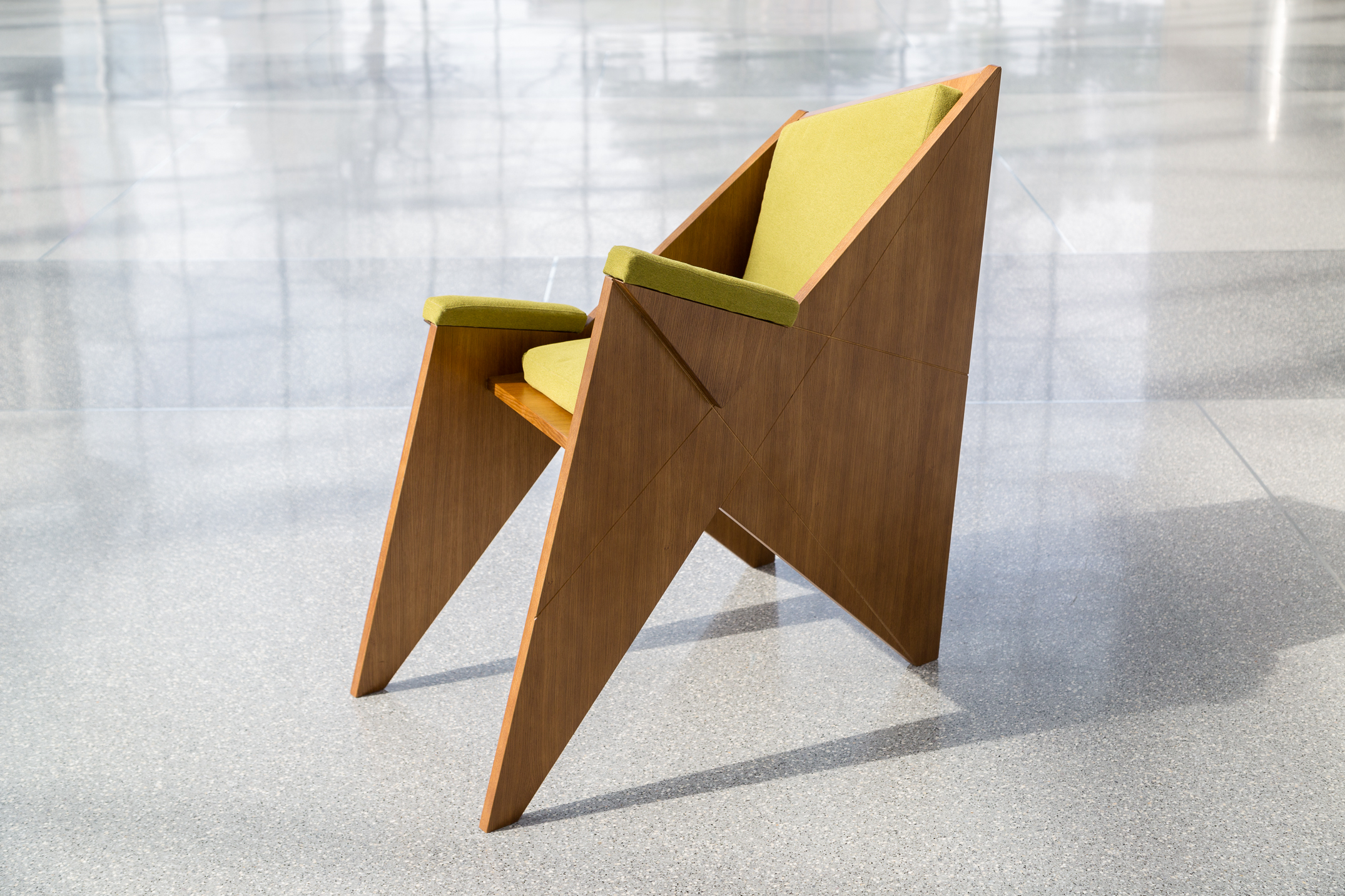 modernist furniture designer maciej markowicz premieres objets d  - wiczny armchair () inspired by felix augenfeld's  chair made forsigmund freud