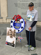Surviving Veterans of Battle of Okinawa Honor Fallen Comrades During...