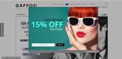 ShopSocially Get-an-Email screenshot at Gaffos.com