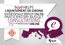 Scytl Online Voting for Participatory Budget in Gerona