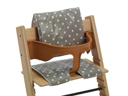 High chair cushions