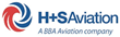 H+S Aviation logo