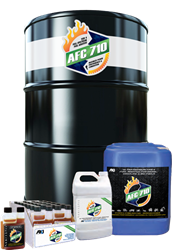 AFC-710 is available in 8-ounce, 1-gallon, and 5-gallon containers, as well as a 55-gallon drum