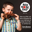 Tony Roma's Supports Red Nose Day