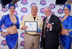 Las Vegas Convention and Visitors Authority award Robert Hall Hospitality Hero Award