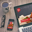 Responsive website design by Gourmet Marketing
