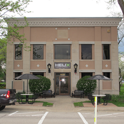 Helix Camera's new location at 100 N. Walnut Street, Itasca, Illinois