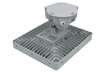 150 Watt Explosion Proof LED Light Fixture Equipped with a Ceiling Mount