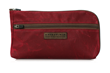 Burgundy Waxed Canvas Gear Pouch