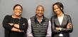BUILDUP Team: Kristina Omari,  Wayne Sutton, and Christian Anderson