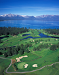Next door to The Landing, Edgewood Golf Course offers golfing along the shores of Lake Tahoe.