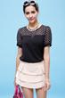 short sleeve blouse, white, plain t shirts, Blouses August 2014, white blouse