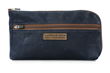 Navy Waxed Canvas Gear Pouch