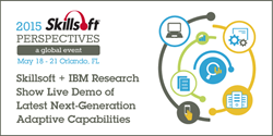 Skillsoft and IBM Research show adaptive learning in action at Perspectives 2015