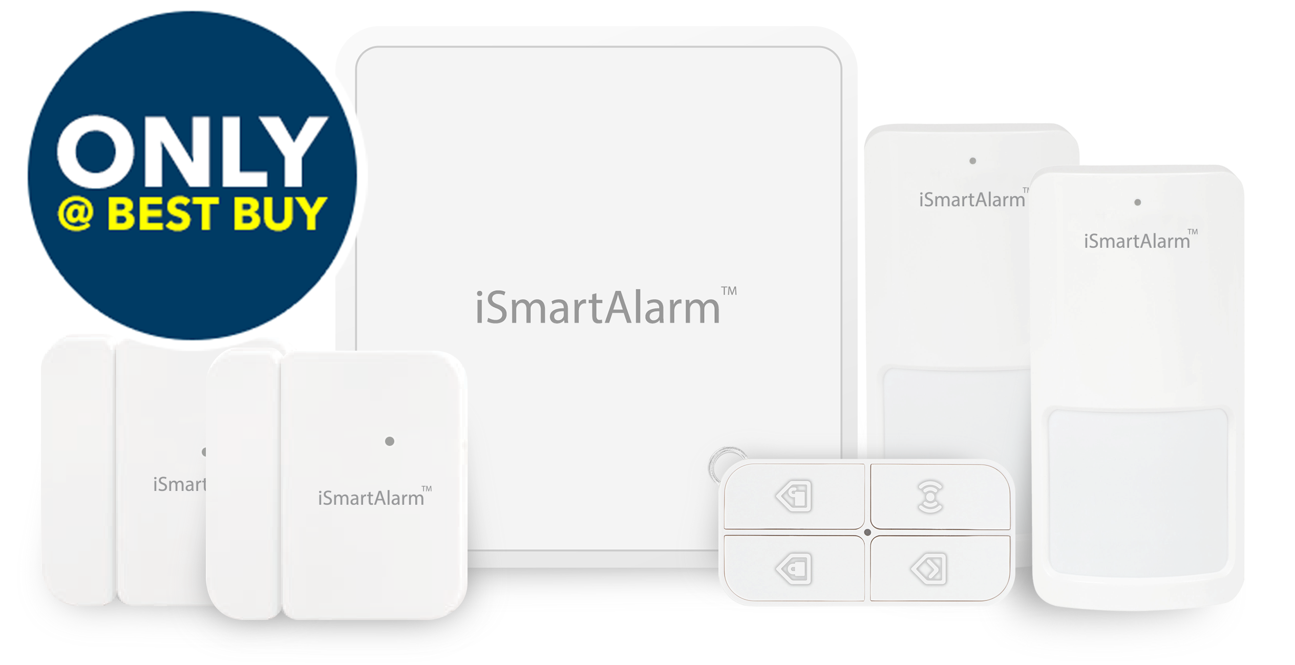 ismartalarm diy home security systems and devices now
