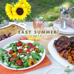 "Simply Organic ""Easy Summer Eats"""