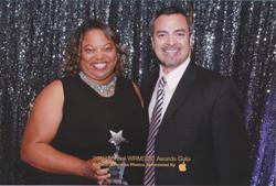 Sydni Craig-Hart and Nino Campos at WRMSDC Awards Gala